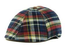 New Licensed New Era EK Red Plaid Ivy Duckbill Beret  Hat Size M MSP $35 ____B91
