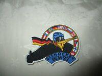 """Deutschland Eishockey Aufnäher """"EISHOCKEY WM 93"""" TOP"""