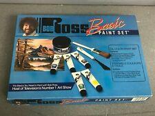Bob Ross vintage Basic oil paint set unused