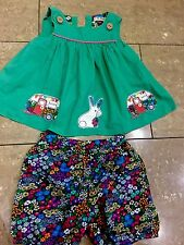 Next Girls Shorts And Matching Top 2-3 Years