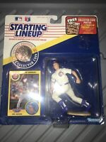 New! 1991 Starting Lineup Ryne Sandberg Chicago Cubs Baseball MLB w/ Card + Coin
