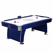 Phantom 7.5-Foot Air Hockey Game Table with Electronic Blue