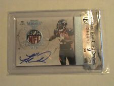 2011 Plates & Patches Knowshon Moreno Denver Broncos Prime NFL Shield Auto 1/1