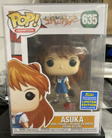 Funko Pop! Animation Evangelion Asuka #635 SDCC Shared Exclusive - New
