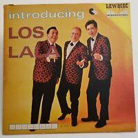 LOS LALA Introducing (LEWDISC SL-2003) Vinyl LP Latin Jazz RARE