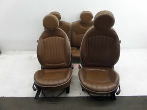 07-13 Mini Cooper S Hatchback Toffee Brown Seats R56 Mayfair Edition OEM