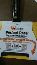 Warner Perfect Pass Compound Molding Tool Drywall Make Easy PN10832