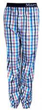 Marc o`Polo gewebte Pyjamahose –Schlafanzug –Hose Homewear marine orange grau