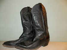 1990's Men's Acme Usa Made Western Style Boots / Us Men's size: 10D / Used Good