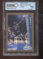 Shaquille O'Neal RC 1992-93 Fleer #401 HOF Rookie GEM MINT 10