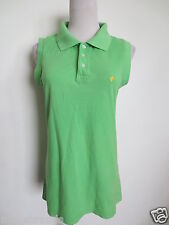 Woman Poloshirt FS FREESOUL Polohemd Polo Piqué L 36 38 grün TIP TOP /Q5