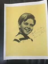 Lassie -Tommy Rettig - signed photo  Great COPY - LOOK