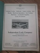 EARLY ILCO Key Blank/Locksmith Supplies/Cutting Machines Catalog Price List No 9