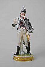 Porzellan Figur Soldat Totenkopf Husar von 1792 Kämmer H25cm 9944312