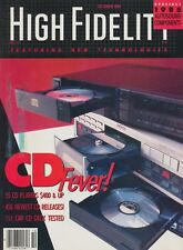 High Fidelity Mag Oct 1984 Kenwood DP-1100B, NAD 4125, Sansui AU-G90X, AT AT-160