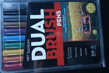 Tombow Dual-brush Water-based Pens 10- Muted