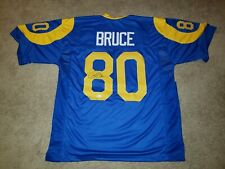 Isaac Bruce Signed Los Angeles Rams Jersey Beckett Authenticated