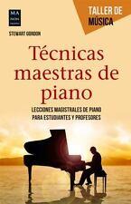 TTCNICAS MAESTRAS DE PIANO