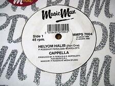"""CAPPELLA - HELYOM HALIB    7"""" VINYL"""
