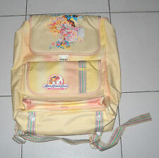ZAINO cartella LADY LOVELY LOCKS and the PIXIETAILS 1986 NUOVO School bag