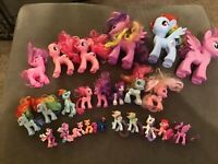 Lot Of 24 My Little Ponies