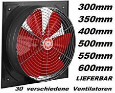 500 mm Industrie Axiallüfter Wandlüfter Fensterlüfter lüfter-Abluft Wandgebläse