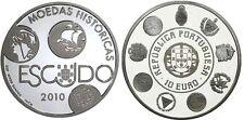 10 EURO PORTUGAL 2010 UNC - ESCUDO, MONNAIE HISTORIQUE DE LA SERIE IBERO