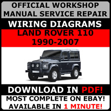 # OFFICIAL WORKSHOP Service Repair MANUAL FOR LAND ROVER 110 1990-2007 +WIRING