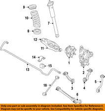 Dodge CHRYSLER OEM Challenger Rear Suspension-Knuckle Spindle Left 68363111AA
