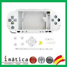 CARCASA COMPLETA PSP 1000 1004 BLANCO BLANCA FULL HOUSING COVER NUEVO FAT GORDA