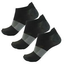 Asics 6 Pack Mens Running Fitness Training Invisible Socks Mixed UK 9-10.5