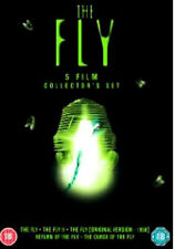 THE FLY COLLECTION (5 movie set) - DVD - REGION 2 UK
