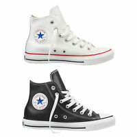 Converse Chuck Taylor All Star Hi Herren-Lederschuhe Baskets Hi-Top Chaussures