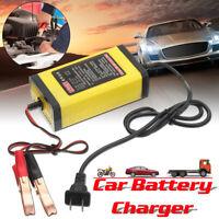12V 2AH-20AH Intelligentes Automatisch Batterie Ladegerät Adapter Auto
