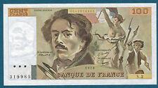 FRANCE - 100 FRANCS DE LA CROIX Fay n° 68. 2 de 1978. en SUP   S.2 319985