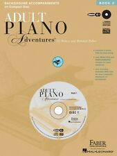 Adult Piano Adventures All-in-One Lesson Book 2 Cds Only Faber Piano 000420097