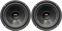 """NEW (2) 6.5"""" DVC Subwoofer Bass.Replacement.Speakers.Shallow Sub.6-1/2"""".z3 PAIR"""