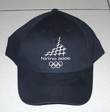 Olimpiadi Torino 2006 CAPPELLO Navy Olympic Winter Gadget Turin NUOVO HAT 2