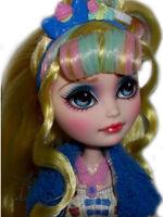 ☠ OOAK custom  Ever After High Blondie Lockes doll repaint monster high bjd ☠