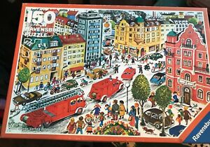Vintage 1984 Ravensburger Puzzle 150 Pieces Made in Germany Fire Department