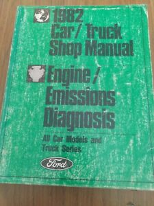1982 Ford Car Truck Engine Emissions Diagnosis Manual