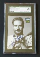 1992 Score Dream Team Wade Boggs Autographed #885 SGC A