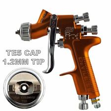 DeVilbiss SRI Pro Lite TE5 Air Cap 1.2mm Fluid Tip Gravity Air Spray Paint Gun