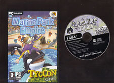 MARINE PARK EMPIRE. EXCELLENT SIMULATION/TYCOON GAME FOR THE PC!!