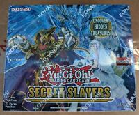 Yugioh TCG Secret Slayers 1st Edition Booster Box Factory Sealed - Available Now