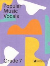 Popular Music Vocals Grade 7 London College of Music Singing Book & Online