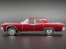1961 LINCOLN CONTINENTAL ROYAL RED POLY 1/64 DIECAST COLLECTIBLE MODEL CAR
