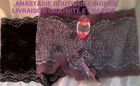 lingeriesousvêtement sexy femme 40 lot 2 boxers/slips tout dentelle extensible