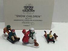 Department 56Heritage Village Collection ~Snow Children 5938-2