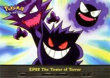 POKEMON TOPPS ENGLISH CARD #EP22 THE TOWER OF TERROR GENGAR HAUNTER GASTLY